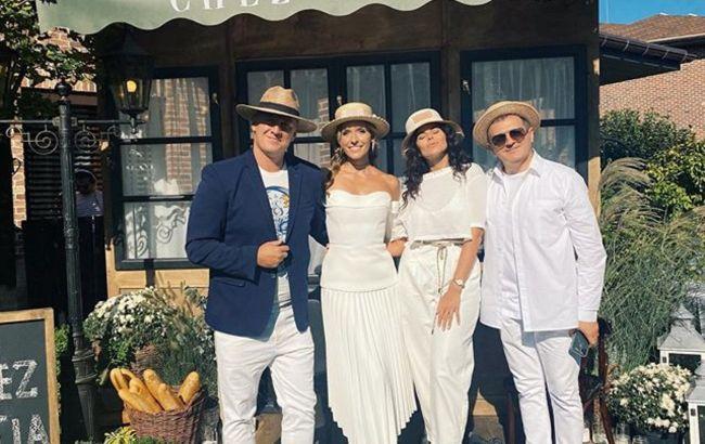 Потап с Каменских и Горбунов с Осадчей и сыном повеселились на домашней вечеринке: было классно