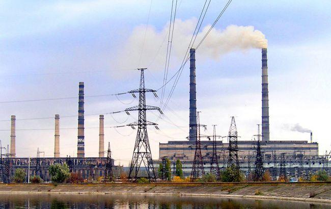 """Три ТЭС работают на минимальной мощности, Славянская ТЭС по-прежнему отключена, - """"Укрэнерго"""""""