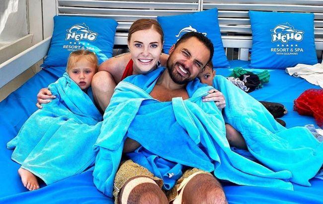 Діти, народжені в любові: Слава з НеАнгелів зворушила фото з екс-чоловіком і донькою-іменинницею