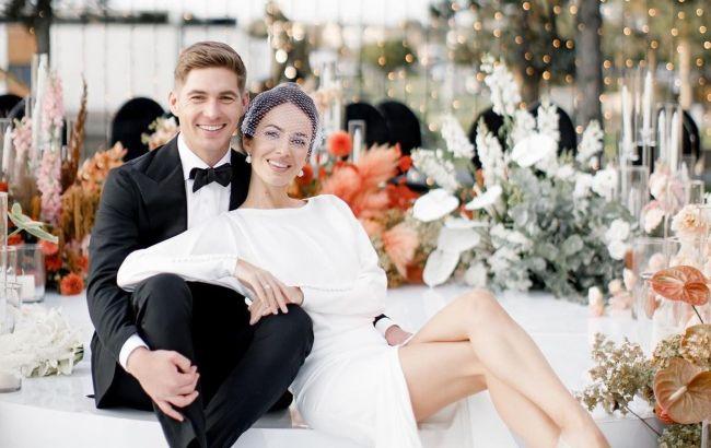 Остапчук с женой поделились эксклюзивным свадебным видео: не мог представить в смелых мечтах