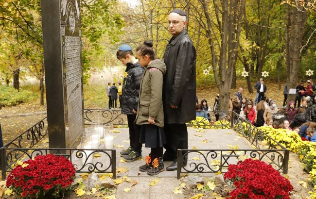 Днепр чтит 80-ю годовщину массовых расстрелов евреев города нацистами во время Второй мировой войны