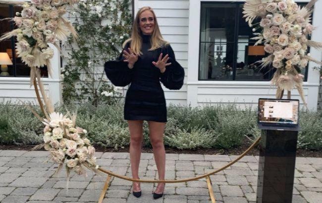 Може собі дозволити: схудла Адель показала фігуру в ультрамодному вбранні