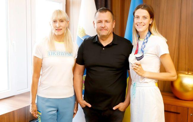 Філатов привітав бронзову призерку Олімпіади в Токіо Магучіх