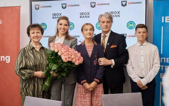 В Институте международных отношений КНУ открыто интерактивную аудиторию по инициативе Ibox Bank