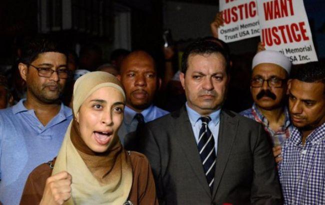 Фото: на думку протестувальників, злочин скоєно через ненависть до мусульман