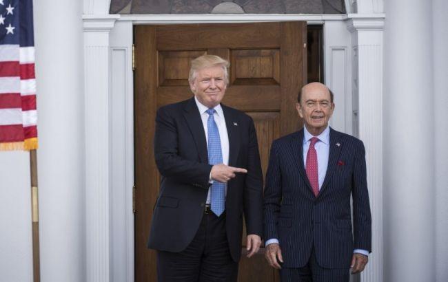Фото: Дональд Трамп і Уілбур Росс
