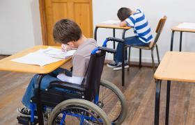В прошлом учебном году в обычных школах работало почти 500 специальных классов для детей с особыми потребностями (rootedinrights.org)