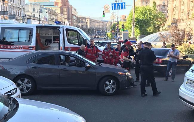 На Найєма здійснили напад у центрі Києва
