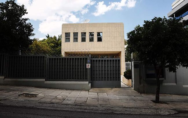 Біля російського консульства в Афінах прогримів вибух
