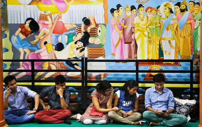 Фото: розвиток інтернет-технологій в Індії (Associated Press)