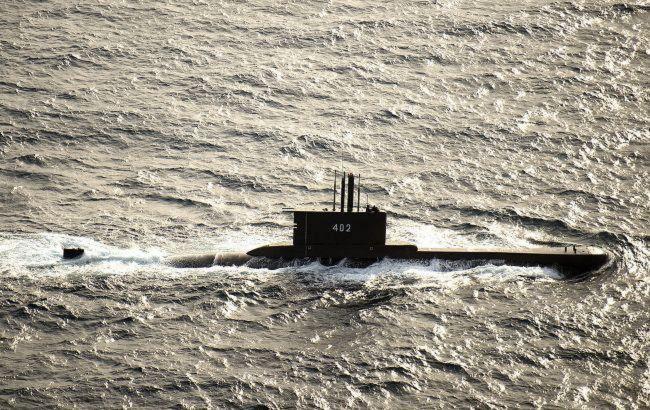 Зниклий підводний човен ВМС Індонезії виявили у водах поблизу Балі
