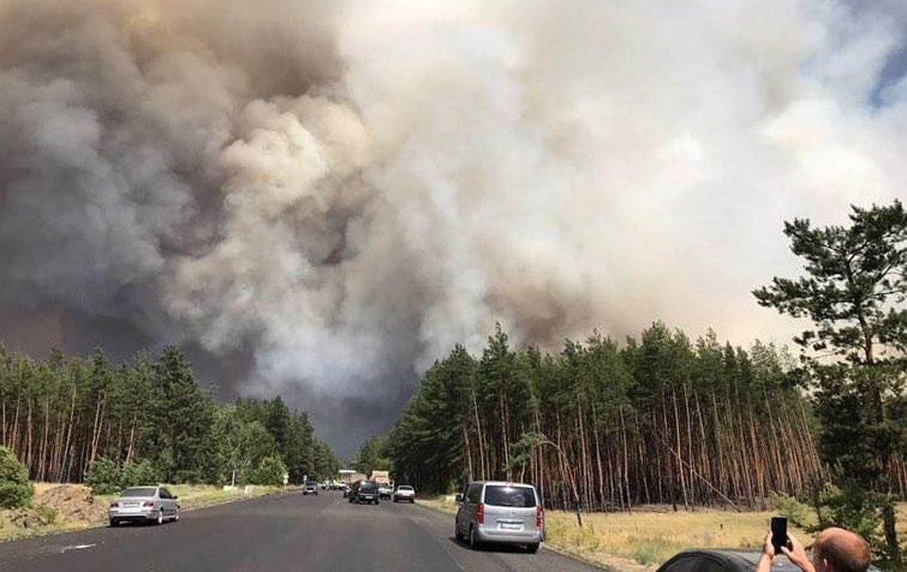 Число жертв пожаров в Луганской области достигло 6, на место едет глава ГСЧС