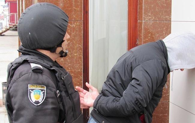 """У Київській області затримали """"злодія в законі"""" з Грузії (відео)"""