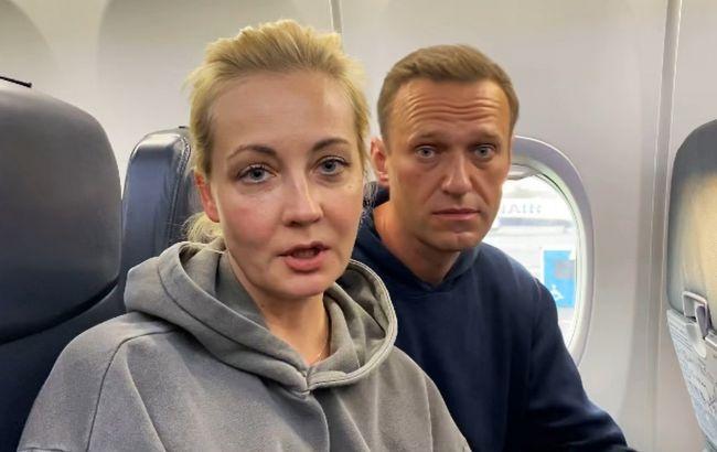 Дружина Навального повернулася до Росії