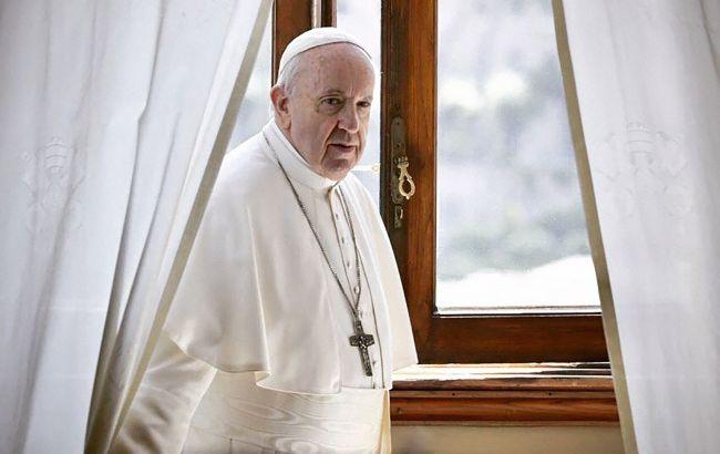 Папа Франциск не буде проводити новорічну месу через проблеми зі здоров'ям