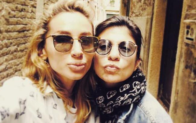 Фото: Светлана Лобода и Нателла Крапивина (instagram.com/natellakrapivina)
