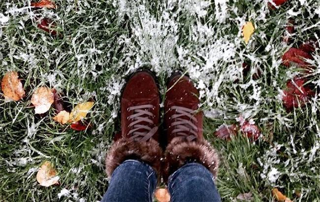 Фото: Первый снег в Киеве (instagram.com/tanya)