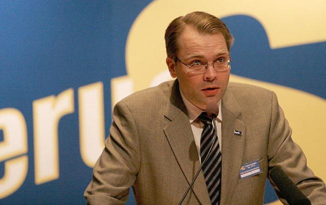 Фото: міністр оборони Фінляндії Юссі Нііністе