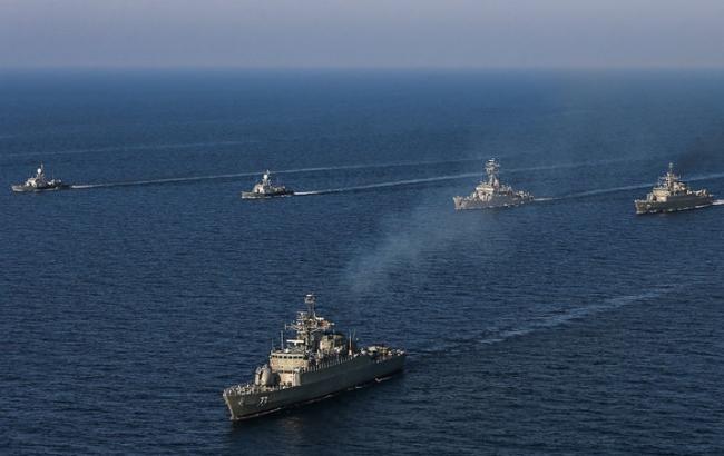 Иран начал учения военно-морского флота