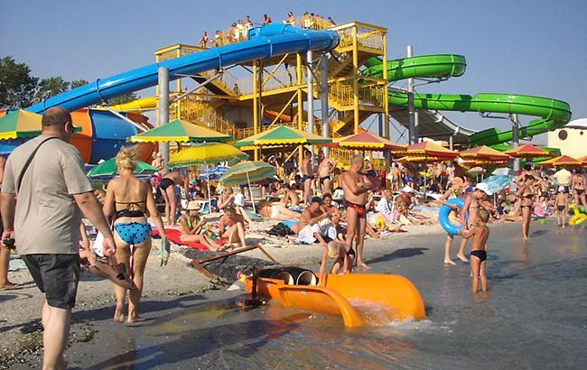 Стоимость субаренды территории пляжа в Железном Порту в 2016 году - 20 тыс. гривен за погонный метр