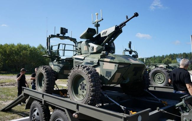 На параде ко Дню независимости покажут боевых роботов украинской разработки