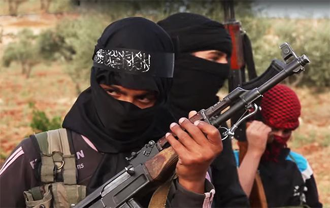 Фото: бойовики ІДІЛ (YouTube screenshot)