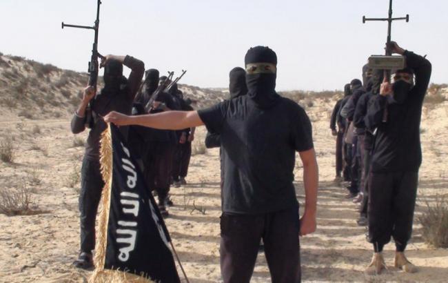 Фото: боевики ИГИЛ на Синайском полуострове