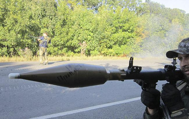 Вштабе АТО афишировали фотографии обстрела Бердянского