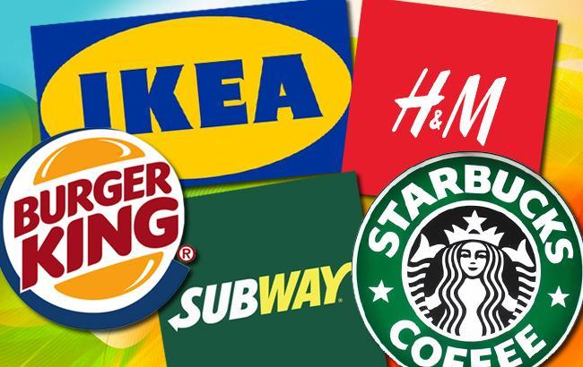 Великі зарубіжні бренди не поспішають в Україну (колаж РБК-Україна)
