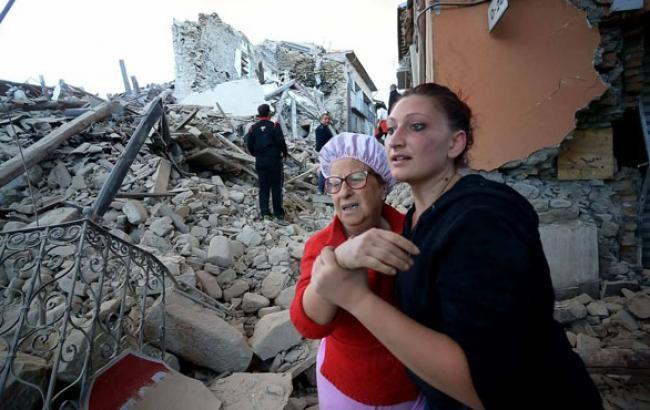 Фото: Землетрясение в Италии (reuters.com)