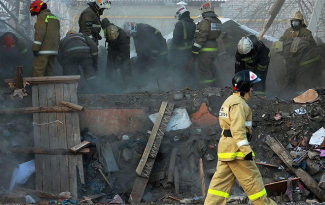 Фото: взрыв дома в Иваново