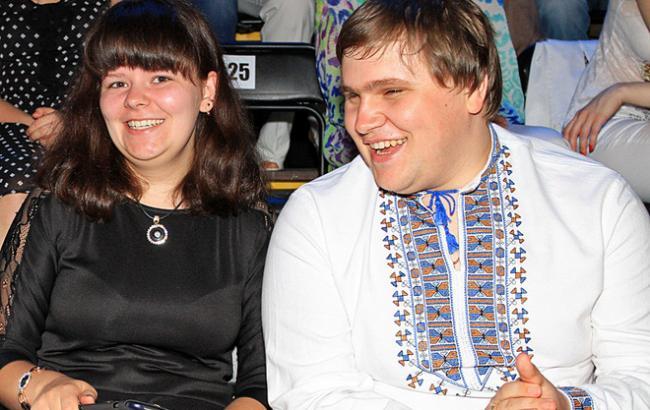 Фото: Иван Ганзера с женой (glamurchik.tochka.net)