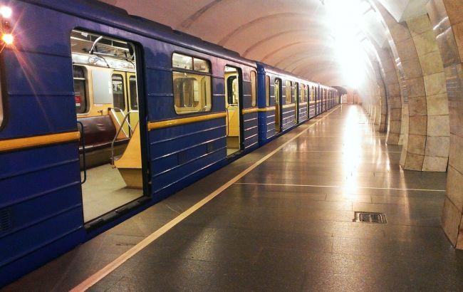 Фото: метро в Киеве