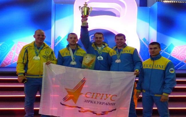 """Україна виборола """"срібло"""" на чемпіонаті світу з гирьового спорту"""