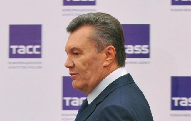 Фото: Виктор Янукович на пресс-конференции (unian.net)