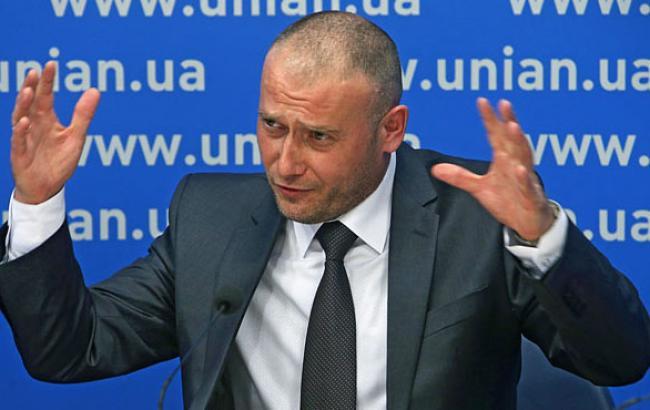 Фото: Народный депутат Дмитрий Ярош (unian.net)