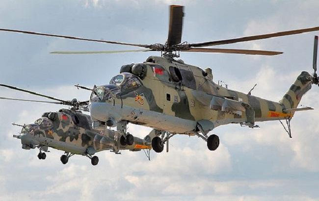 Фото: российские вертолеты