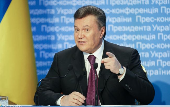 """ГБР сообщило о подозрении Януковичу за подписание """"харьковских соглашений"""""""