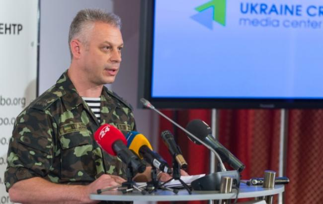 Штаб АТО: Бойовики продовжують інтенсивне перевезення озброєнь через Дебальцевський залізничний вузол