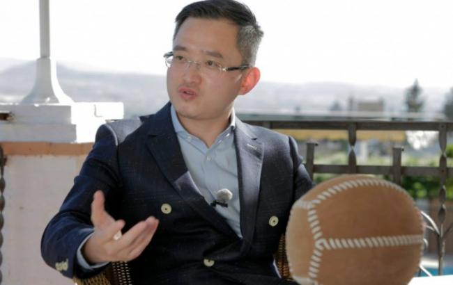 Фото: китайський бізнесмен Цзян Лижан