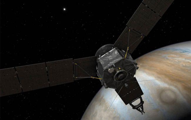 Фото: зонд Juno вошел в спящий режим
