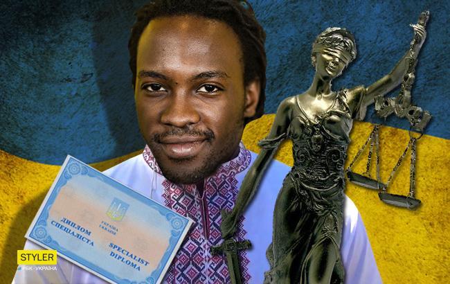 Даже выиграл несколько дел: нигериец 15 лет выдавал себя за адвоката из Украины