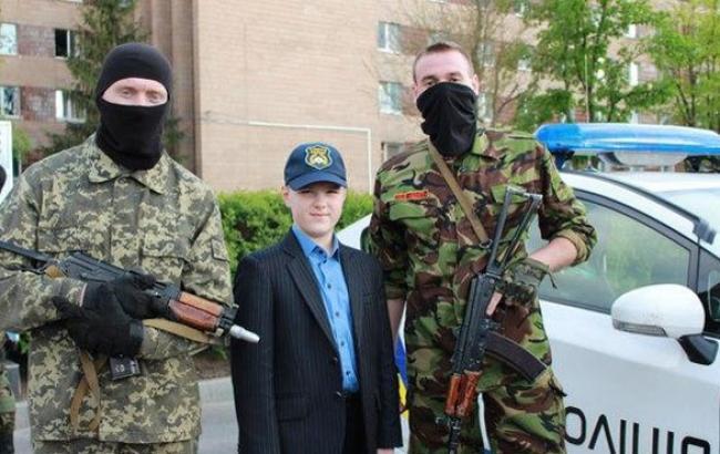 """Фото: Випускник першого набору """"Кадетів поліції"""" (kharkivoda.gov.ua)"""