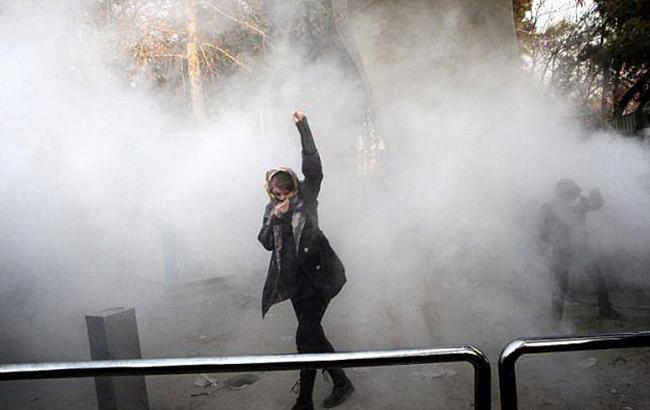 Фото: протести в Ірані (KajalMohammadi twitter)