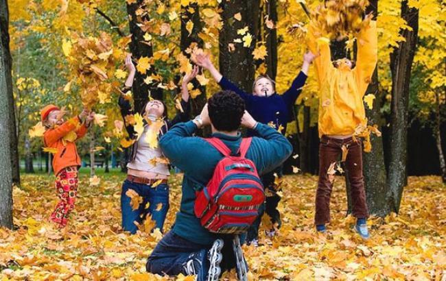 Фото: Діти на осінніх канікулах (vv-hotel.com)
