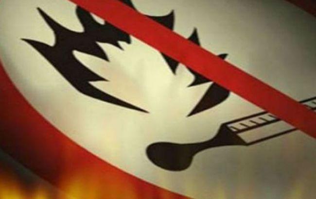 Фото: українців попереджають про небезпеку виникнення пожеж