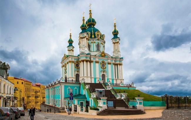 Фото: Андреевская церковь