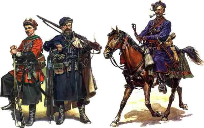 В Одессе показывают эволюцию одежды украинских казаков