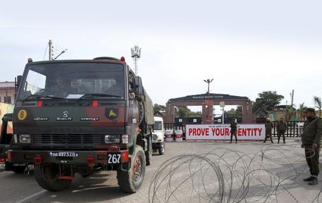 Фото: место событий в Кашмире (twitter.com/juned_wani)