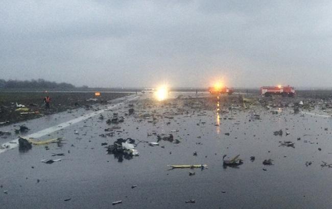 Фото: в авіакатастрофі в Ростові не вижив ніхто